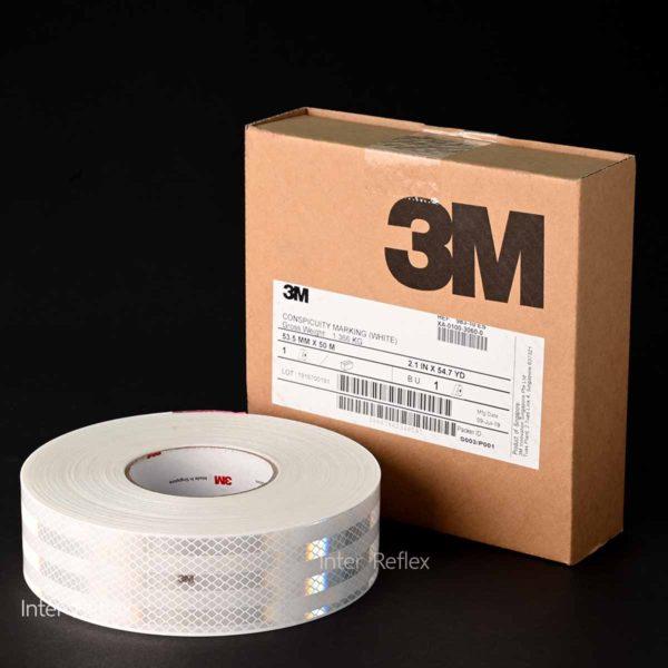 สติ๊กเกอร์สะท้อนแสง 3M สีขาว