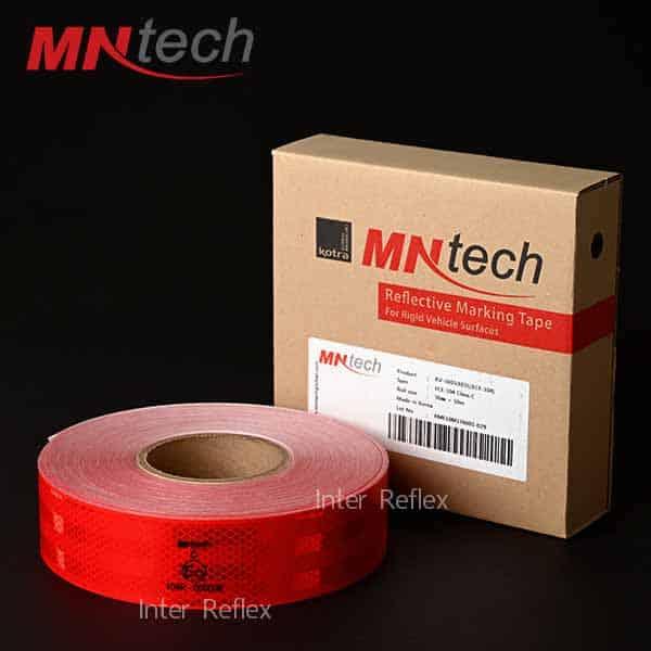 สติ๊กเกอร์สะท้อนแสง MNtech สีแดง