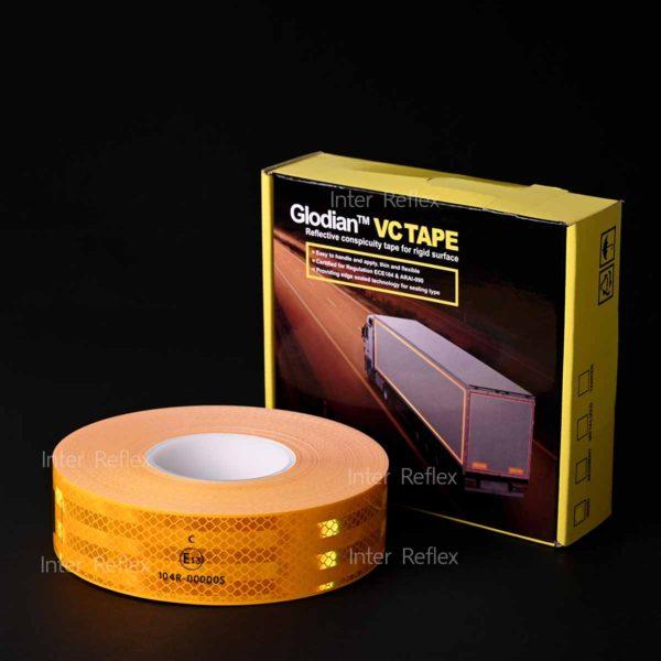 สติ๊กเกอร์สะท้อนแสง Reflomax สีเหลือง